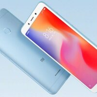 Смартфон Xiaomi Redmi 6 3/64GB (голубой)