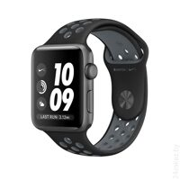 Умные часы Apple Watch Nike+ 38mm Space Gray with Black Cool Gray Band [MNYX2]