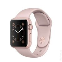 Умные часы Apple Watch Series 1 38mm Rose Gold with Pink Sand Sport Band [MNNH2]