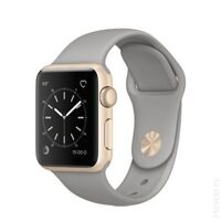 Умные часы Apple Watch Series 1 38mm Gold with Concrete Sport Band [MNNJ2]