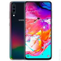Смартфон Samsung Galaxy A70 6GB/128GB (черный)