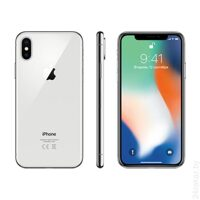 Смартфон Apple iPhone X 256GB (серебристый)